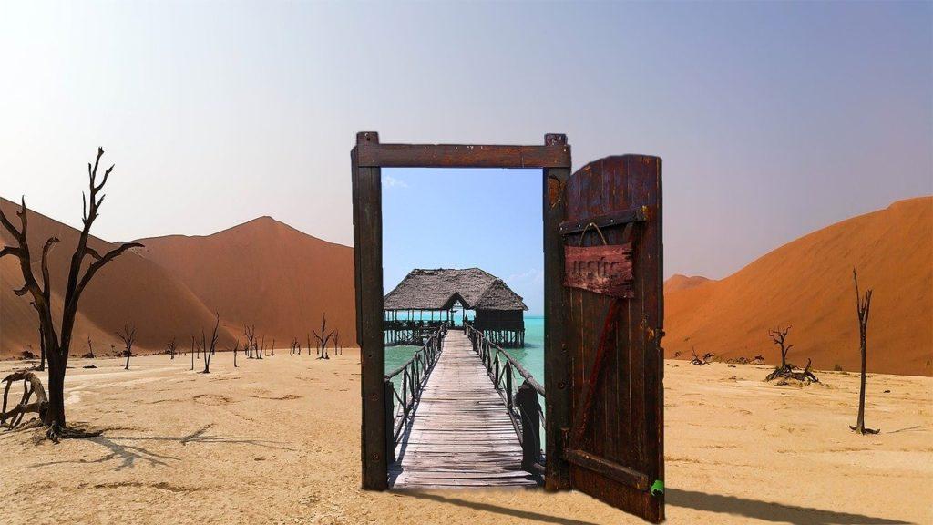 Una porta aperta nell'oasi